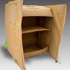 Cardboard Box Design Backpack Based on an Original Design by Sumito Owara