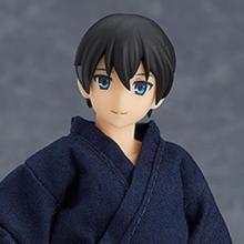 figma Male Body (Ryo) with Yukata Outfit