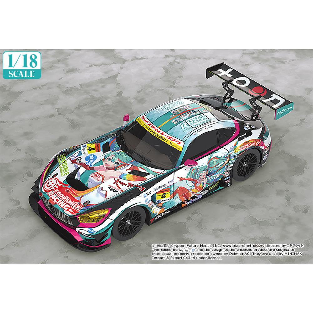 1/18th Scale Good Smile Hatsune Miku AMG 2016 SUPER GT Ver. - GSC Online Exclusive Edition