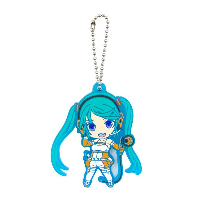 Blind Box Hatsune Miku GT Project 10th Anniversary Nendoroid Plus Capsule Rubber Key Chain