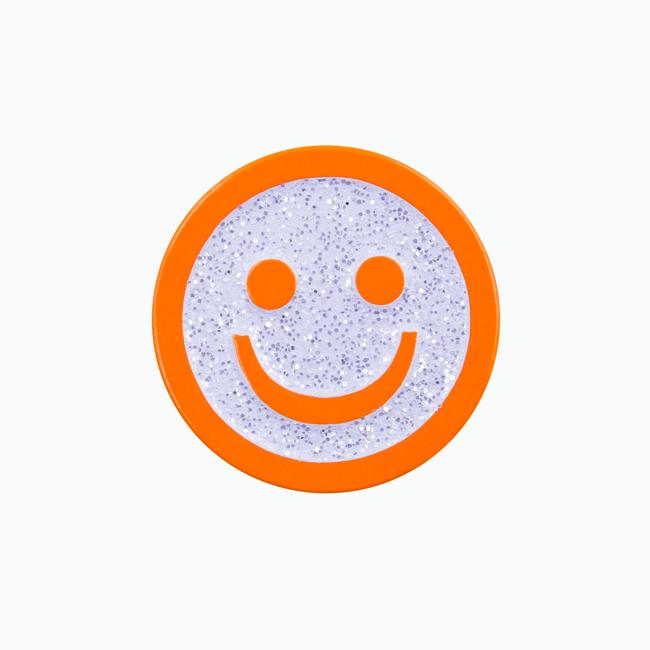 Good Smile Face Pin