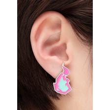 Burnish Flare Clip-On Earrings