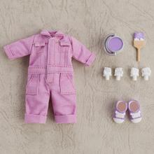 Nendoroid Doll: Outfit Set (Colorful Coveralls - Purple)