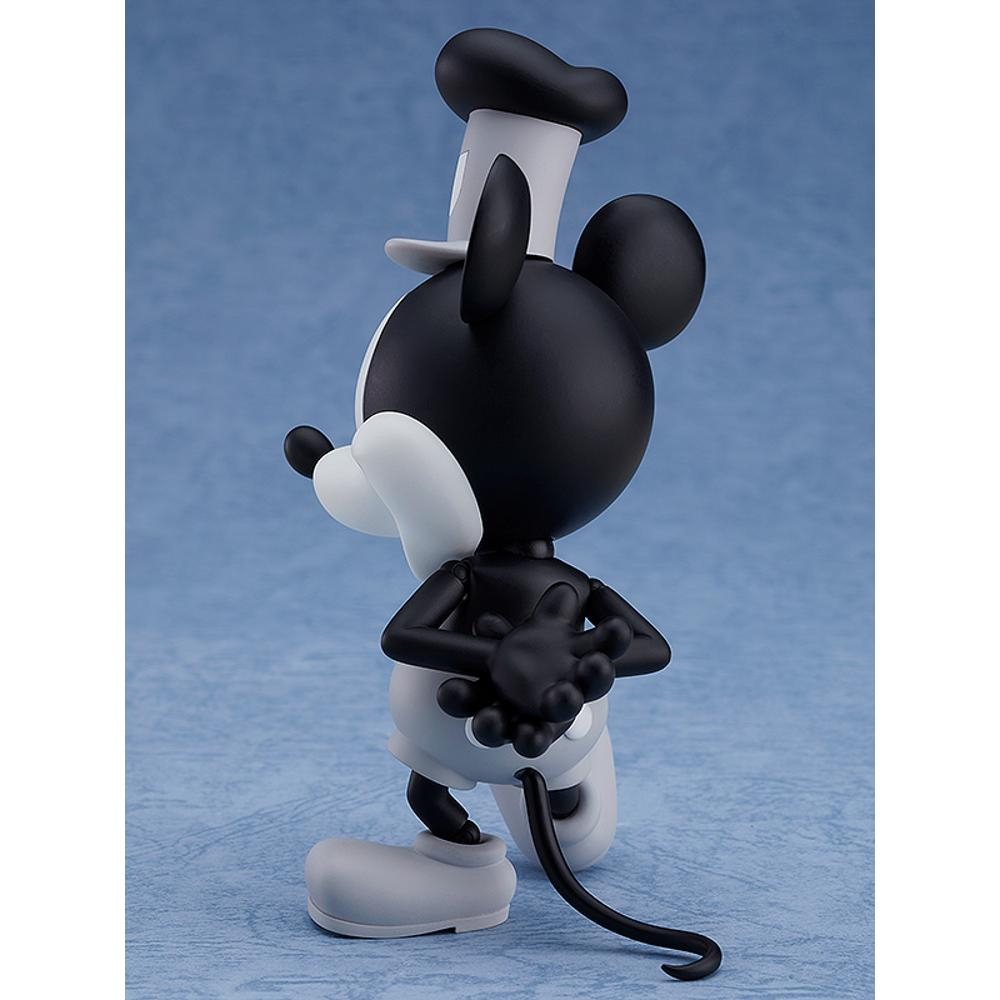 Disney Mickey Mouse Steamboat Willie Nendoroid 4 Inch 1928 Color Version