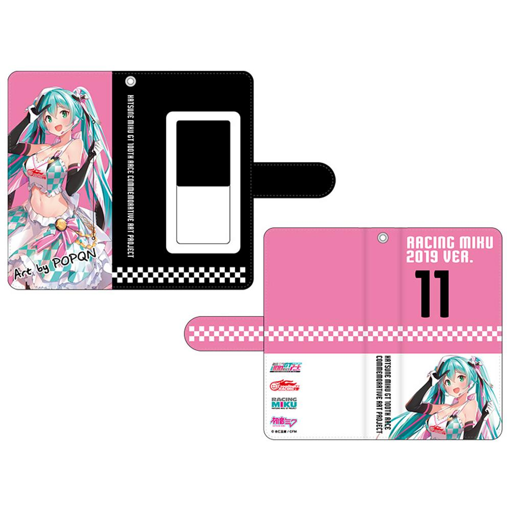 Hatsune Miku GT Project 100th Race Commemorative Art Project Art Omnibus Flip Cover Smartphone Case