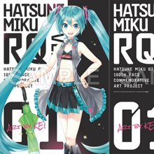 Hatsune Miku GT Project 100th Race Commemorative Art Project Art Omnibus Clear File