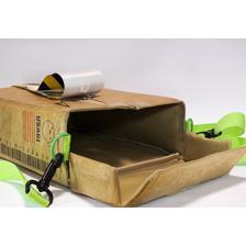 Cardboard Box Design Shoulder Bag Based on an Original Design by Sumito Owara