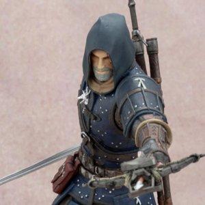 The Witcher 3 - Wild Hunt: Geralt Grandmaster Feline Figure